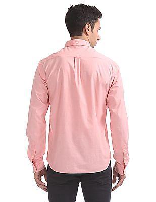 Aeropostale Regular Fit Button-Down Collar Shirt