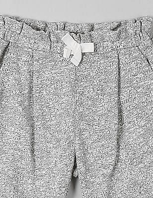 GAP Baby Grey Marled Soft Pants
