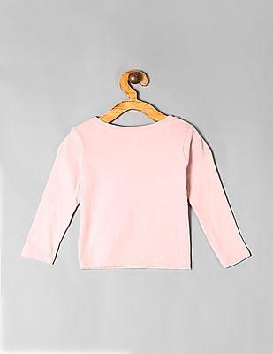 GAP Pink Toddler Girl City Graphic T-Shirt