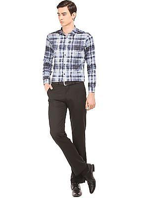 Arrow Newyork Printed Skinny Fit Shirt