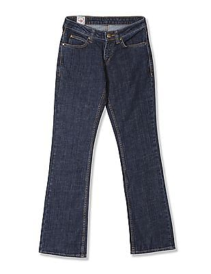 Flying Machine Bootcut Fit Dark Wash Jeans