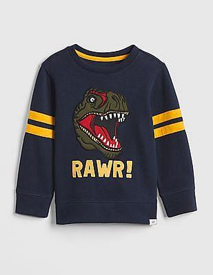 GAP Baby Stripe Long Sleeve Sweatshirt