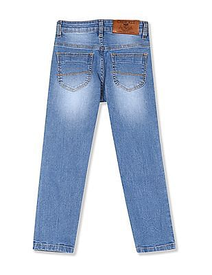 Cherokee Boys Slim Fit Washed Jeans