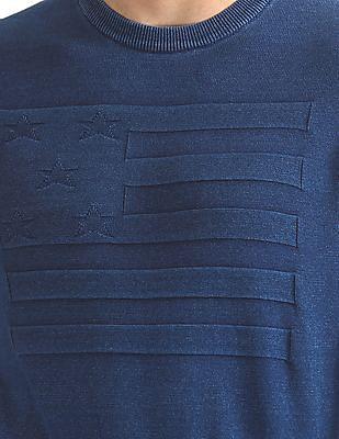 U.S. Polo Assn. Denim Co. Crew Neck Cotton Sweater