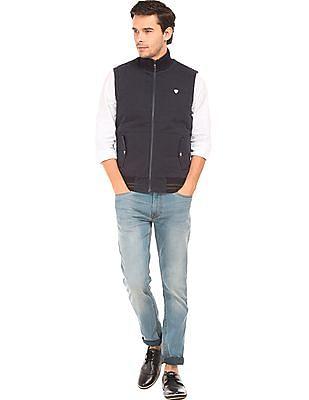 Arrow Sports Reversible Zip Up Gilet Jacket