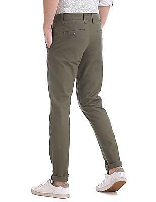 Ruggers Modern Regular Fit Twill Trousers