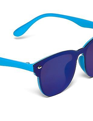 Unlimited Girls Tonal Square Frame Sunglasses