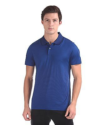 Arrow Short Sleeve Patterned Polo Shirt