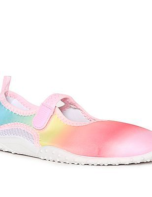 The Children's Place Multi Colour Girls Perforated Panel Water Shoes