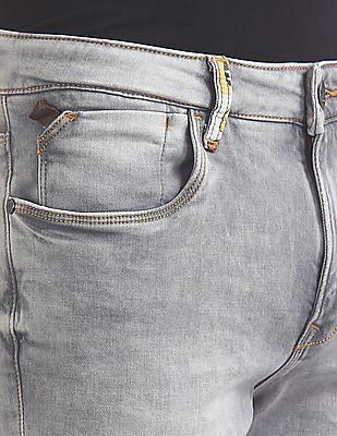 Ed Hardy Slim Fit Rinsed Jeans