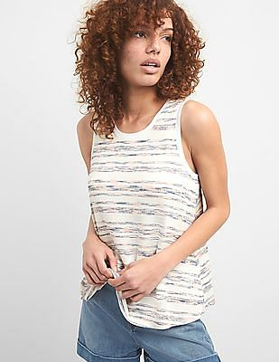 GAP Softspun Stripe Tank Top