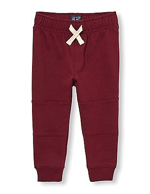 The Children's Place Toddler Boy Red Moto Jogger Pants