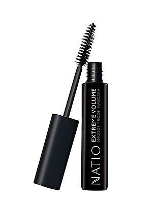 NATIO Extreme Volume Smudge Proof Mascara - Brown Black