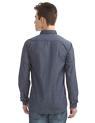 Cherokee Striped Contemporary Fit Shirt