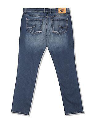 Izod Slim Fit Whiskered Jeans