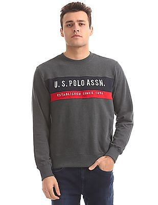 U.S. Polo Assn. Regular Fit Full Sleeve Sweatshirt