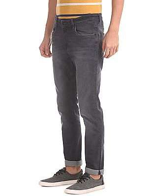 U.S. Polo Assn. Denim Co. Slim Tapered Fit Stone Washed Jeans