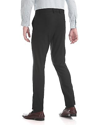 Excalibur Super Slim Fit Solid Trousers
