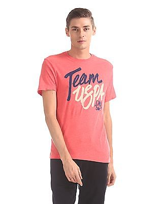 U.S. Polo Assn. Denim Co. Regular Fit Graphic T-Shirt