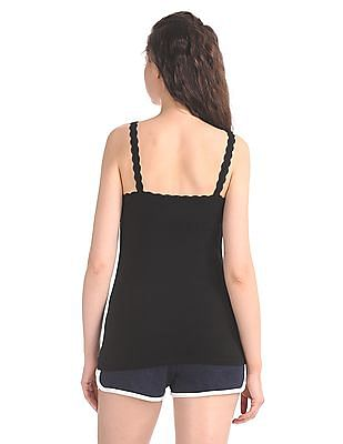 Unlimited Lace Trim V-Neck Camisole