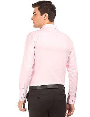 Calvin Klein Cutaway Collar Slim Fit Shirt