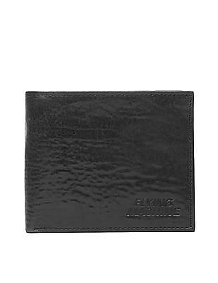 Flying Machine Grained Leather Bi-Fold Wallet