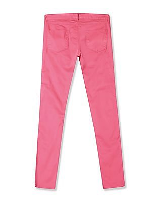 U.S. Polo Assn. Women Super Skinny Fit Twill Trousers