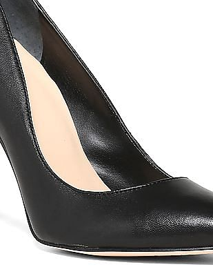 GUESS Pointed Toe Leather Pumps