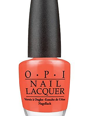 O.P.I Nail Lacquer - Hot & Spicy