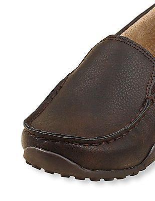 The Children's Place Boys Brown Slip-On Dress Shoe