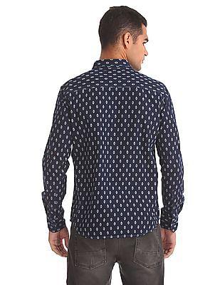 Ed Hardy Slim Fit Printed Shirt