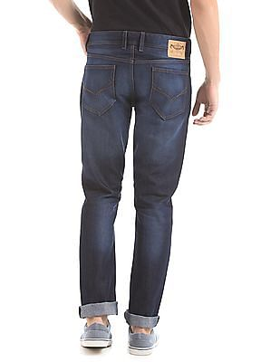 Flying Machine Slim Fit Dark Wash Jeans