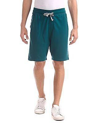 Colt Green Drawstring Waist Knit Shorts