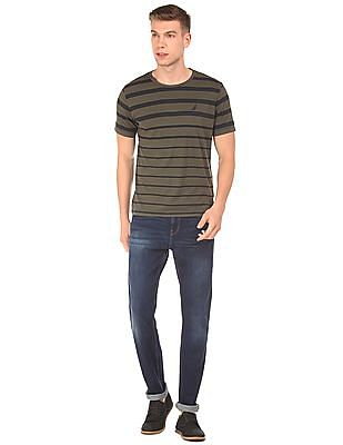 Nautica Slim Fit Whiskered Jeans