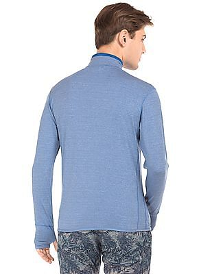 USPA Active Zipper Placket Running Sweatshirt
