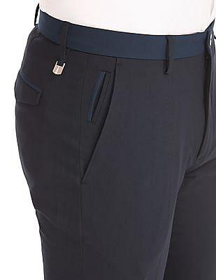 Arrow Newyork Low Rise Super Slim Fit Trousers