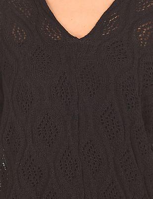 SUGR Dolman Sleeve Boxy Sweater