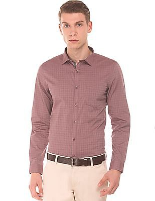 Elitus Slim Fit Jacquard Shirt