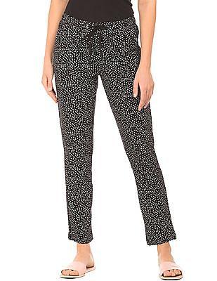 SUGR Geometric Print Cotton Lounge Pants