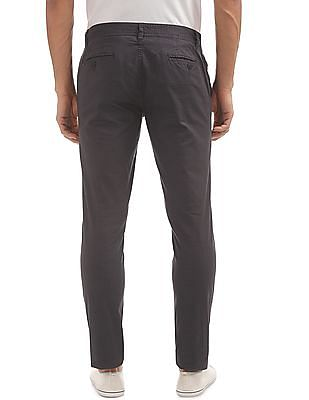 Cherokee Slim Fit Printed Trousers