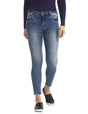 Aeropostale Five Pockets Dark Wash Jeans