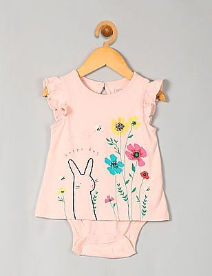 GAP Baby Pink Little Artist Flutter Body Double