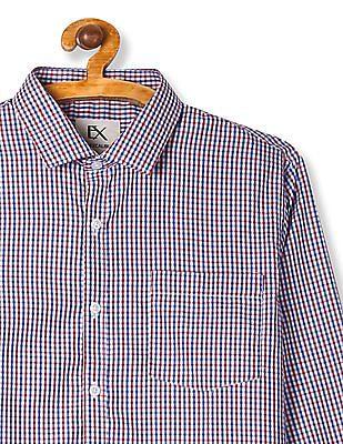 Excalibur Multi Colour Long Sleeve Check Shirt