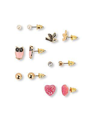The Children's Place Girls Stud Earrings 6-pack