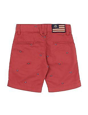 U.S. Polo Assn. Kids Boys Printed Woven Shorts