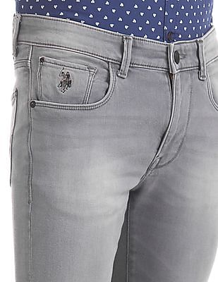 U.S. Polo Assn. Denim Co. Regallo Skinny Fit Stone Washed Jeans
