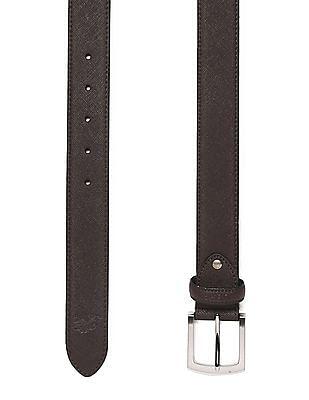 U.S. Polo Assn. Textured Leather Belt