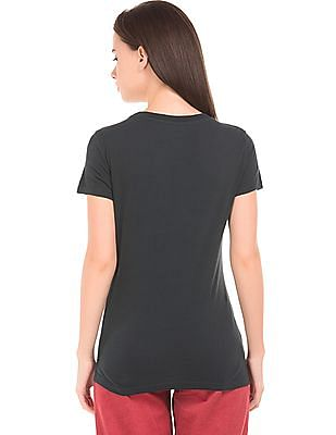 Aeropostale Applique Round Neck T-Shirt