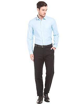 Excalibur Slim Fit Striped Shirt