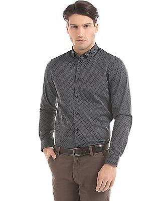 Arrow Newyork Striped Slim Fit Shirt